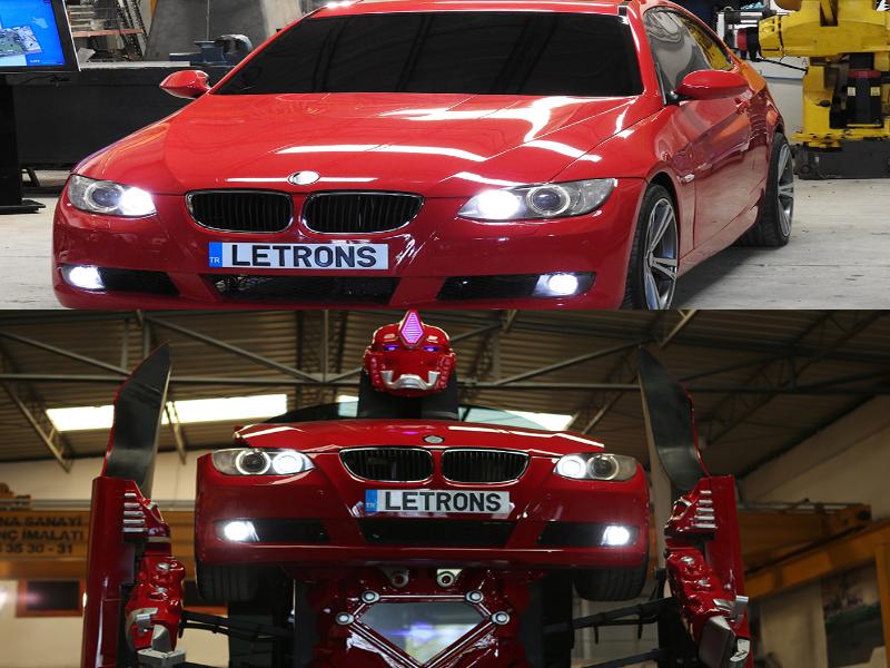 Mobil Robot BMW Letrons