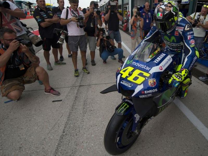 Strategi Valentino Rossi Untuk Menang di MotoGP Aragon Spanyol 2016