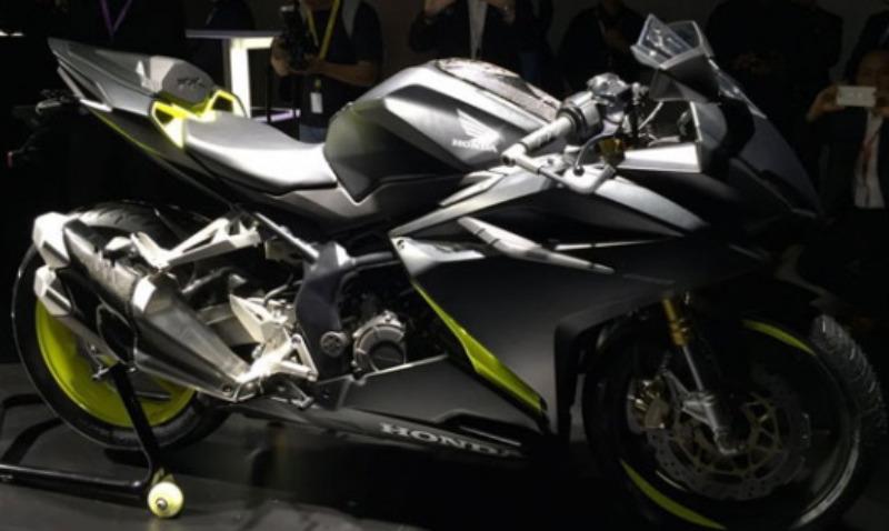 Gambar Honda CBR250RR Warna Hitam