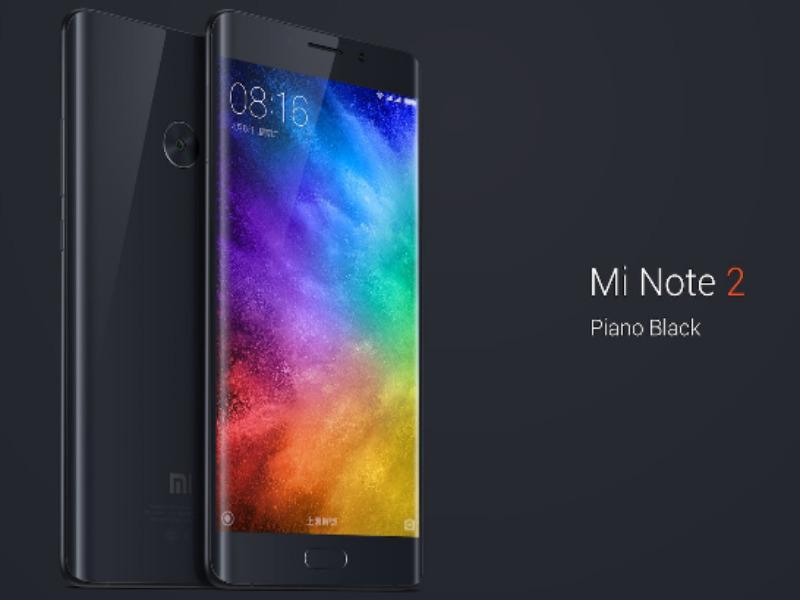 Xiaomi Mi Note Warna Hitam