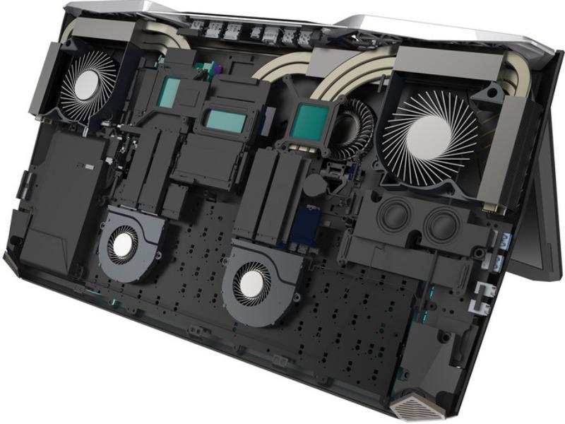Sistem Pendingin Acer Predator 21 X