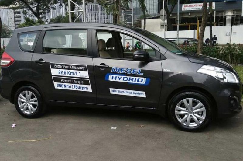 Harga Ertiga Diesel Hybrid.