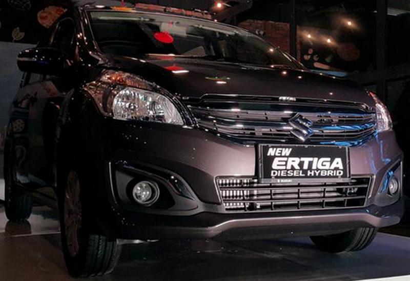 Gambar Suzuki New Ertiga Diesel Hybrid.