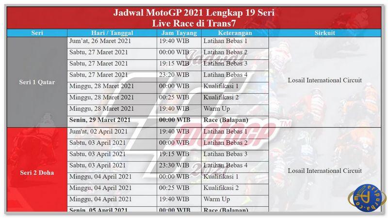 Download Kalender MotoGP 2021