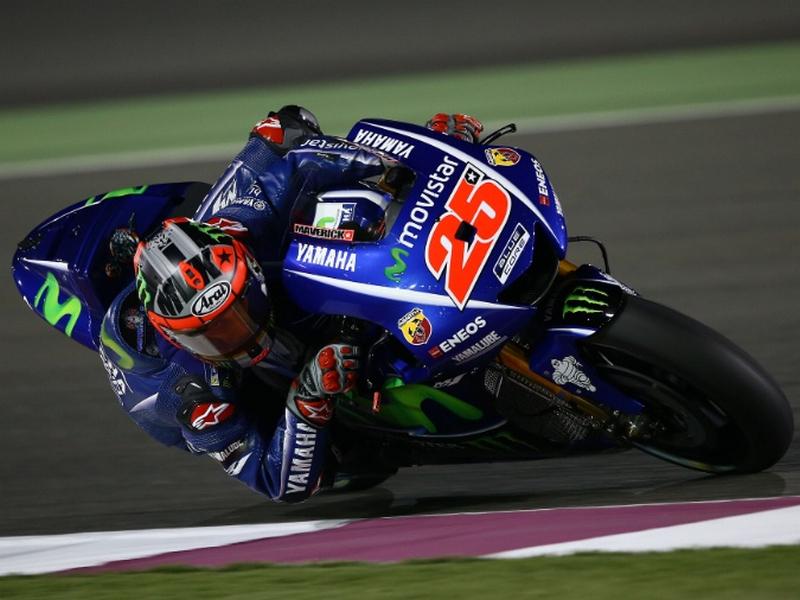 Maverick Vinales Tercepat Di Sesi Latihan Bebas 1 MotoGP Qatar 2017