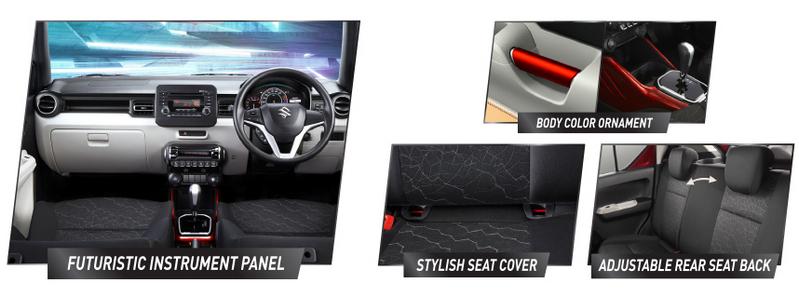 Gambar-Gambat Interior Suzuki Ignis