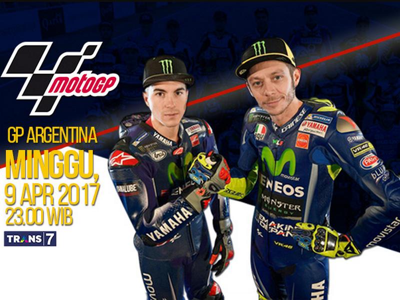 Jadwal MotoGP Argentina 2017 Tran7
