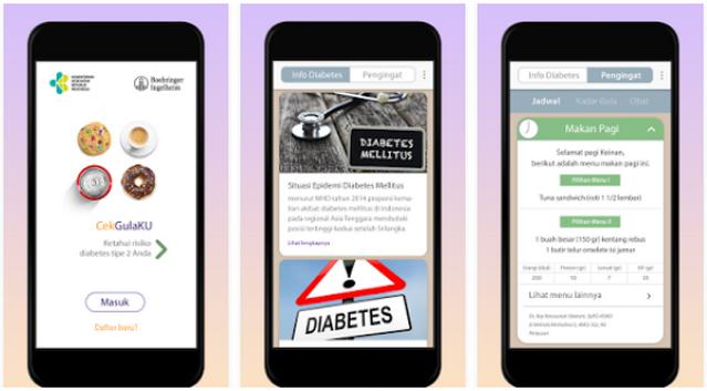 Aplikasi CekGulaKu Untuk Mengetahui Penyakit Diabetes