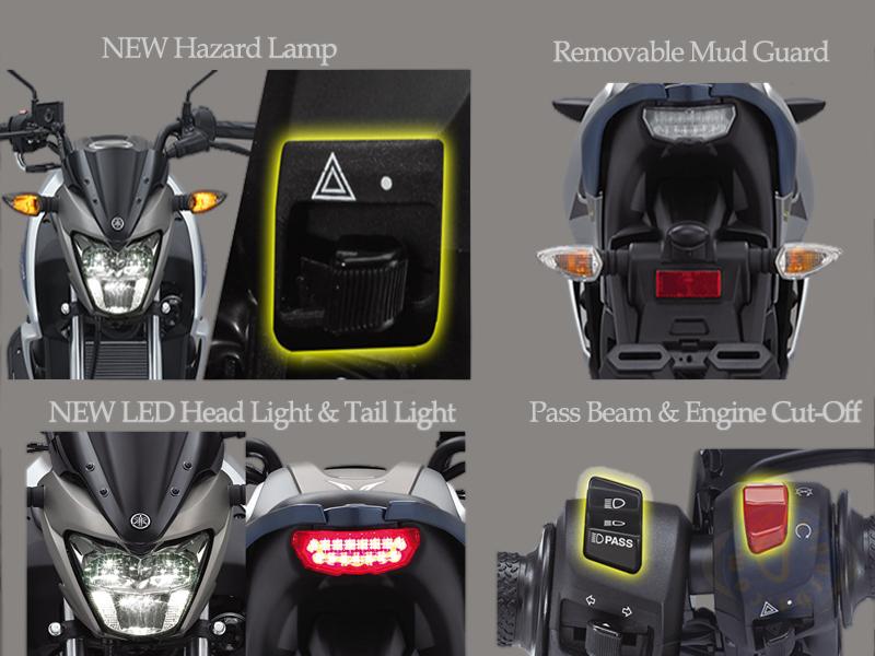 Desain dan Fitur All New Yamaha Vixion 2017