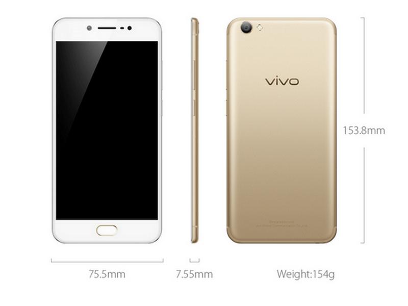 Spesifikasi Vivo V5s