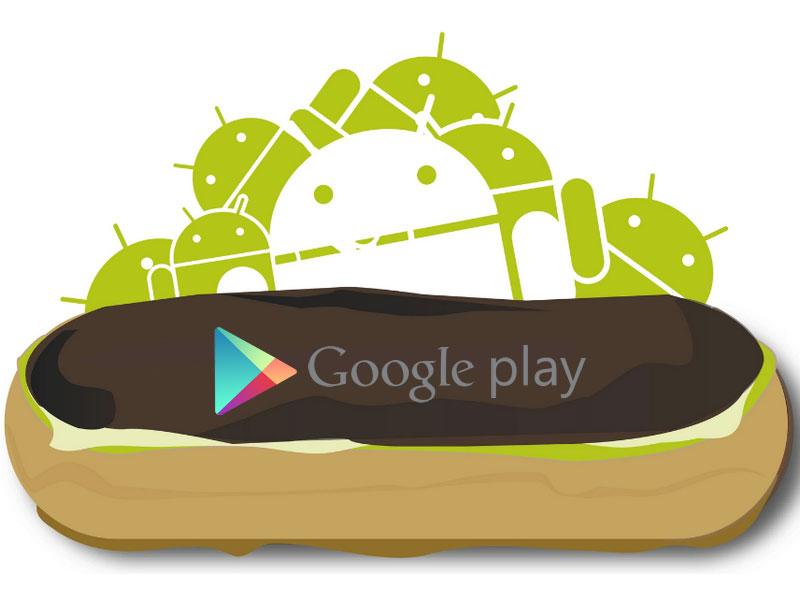 Aplikasi Google Play Store Android Eclair