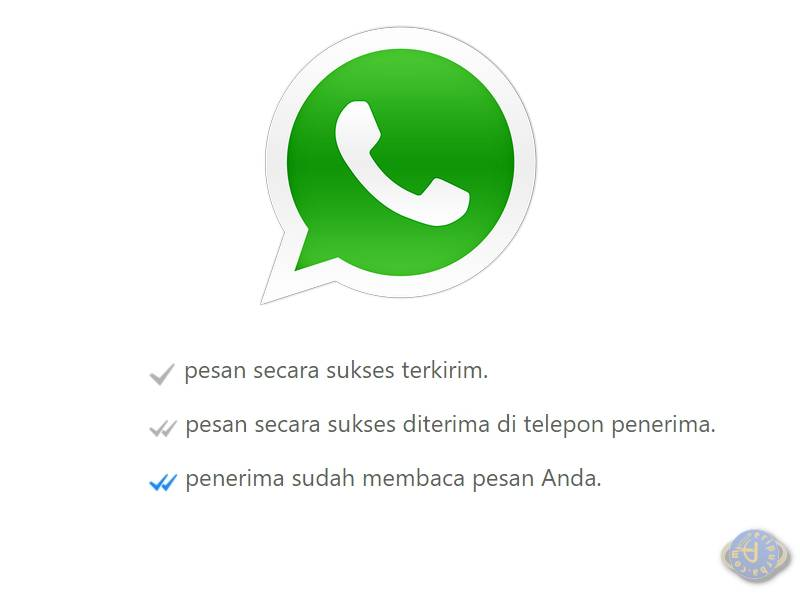 Arti Tanda Centang Saat Mengirim Pesan WhatsApp
