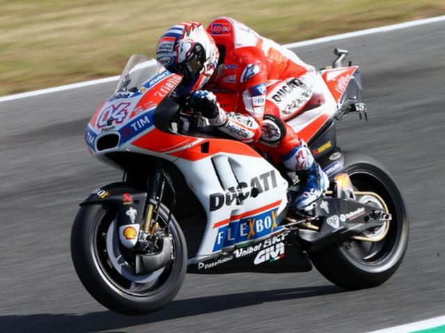 Hasil FP1 MotoGP Italia 2017, Andrea Dovizioso Tercepat