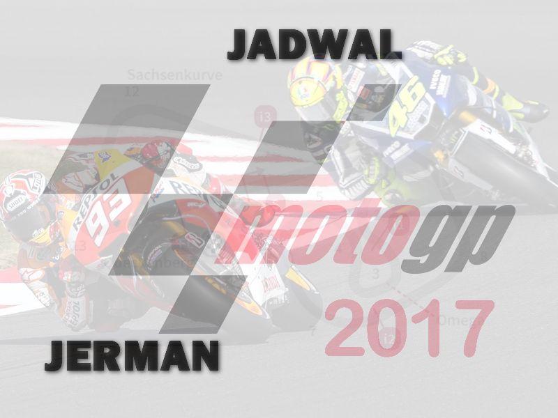 Jadwal MotoGP Jerman 2017 Di Trans7