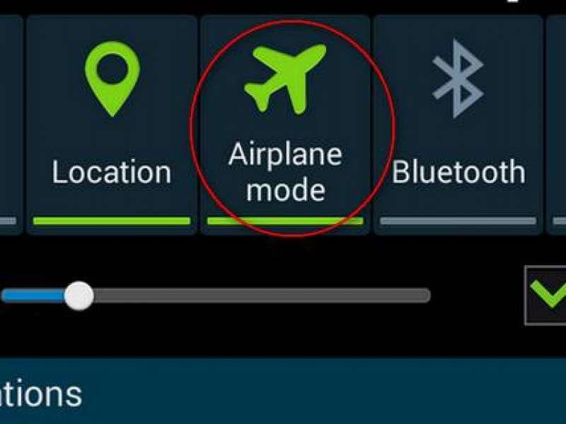 Mengaktifkan Mode Penerbangan Di Android