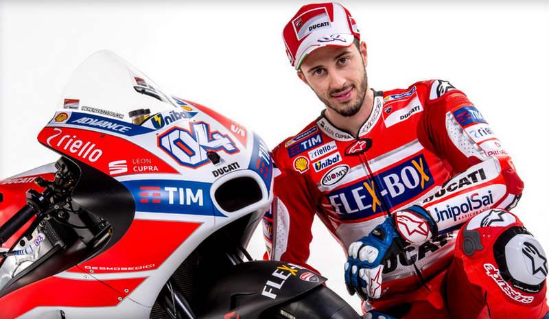 Pebalap Ducati, Andrea Dovizioso Tercepat Di FP1 MotoGP Jerman 2017