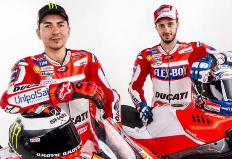 Pembalap MotoGP 2017 Dari Ducati Lorenzo dan Dovizioso
