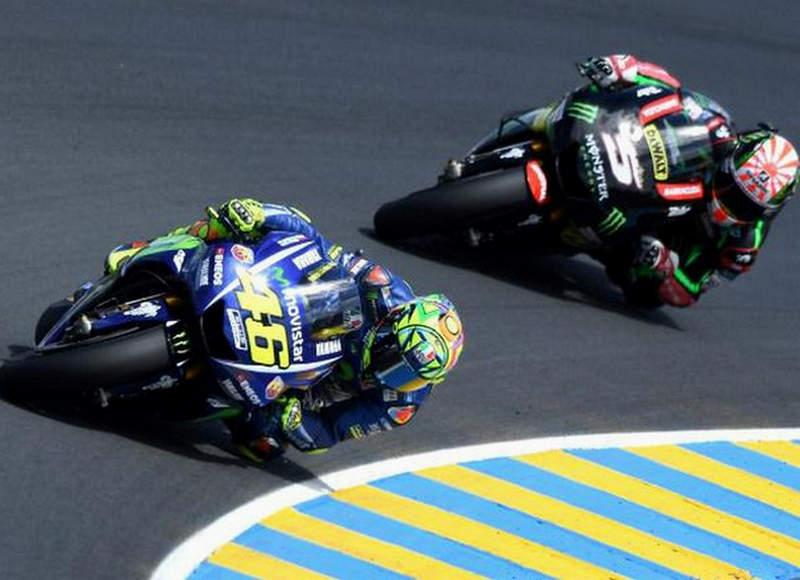 Pertarungan Rossi dan Zarco di MotoGP Belanda