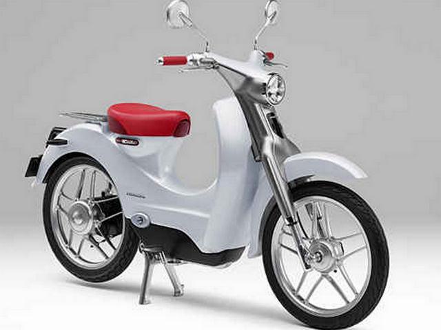 Skuter Listrik Honda EV-CUB