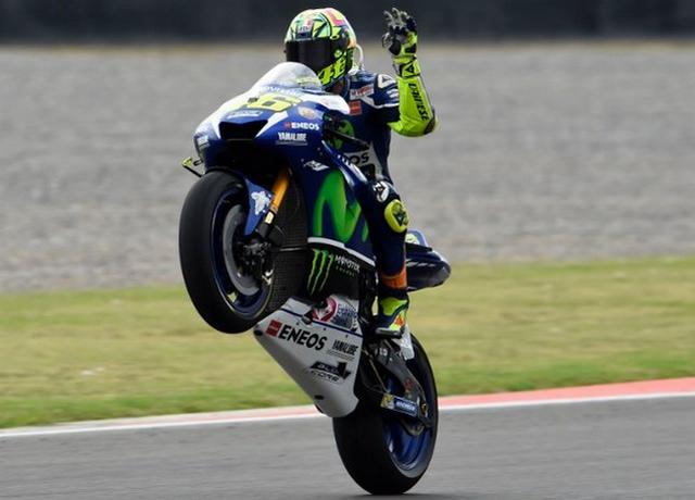 Valentino Rossi Balapan Di MotoGP Italia