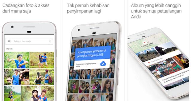 Cara Backup Foto-Foto Dengan Aplikasi Google Photos