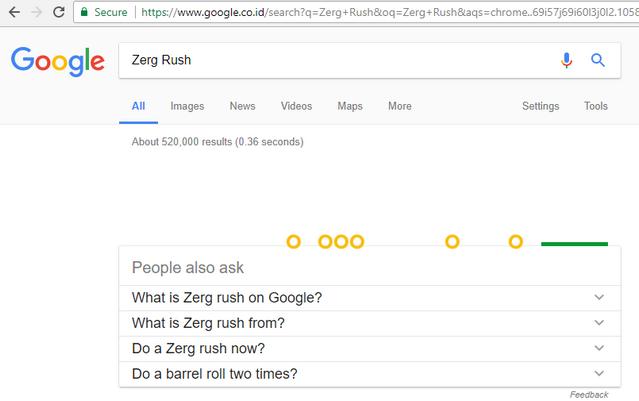 Game Zerg Rush