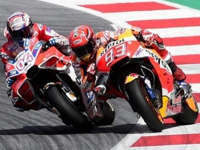 Marquez VS Dovizioso di MotoGP Austria 2017