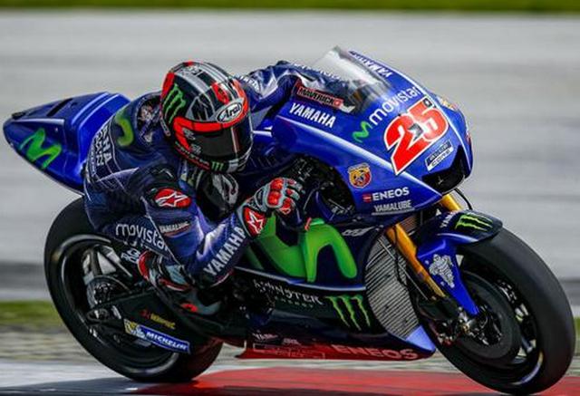 Vinales Tercepat Di Sesi FP4 MotoGP Aragon 2017