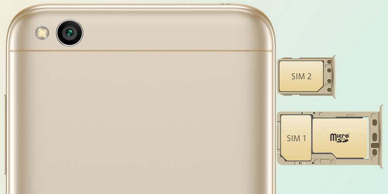 Fitur Dual SIM Xiaomi Redmi 5A
