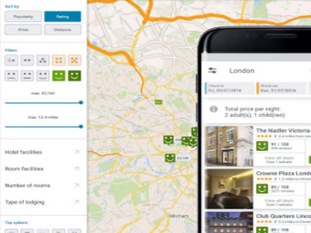 Fitur Peta dan Pencarian Hotel di Aplikasi Android