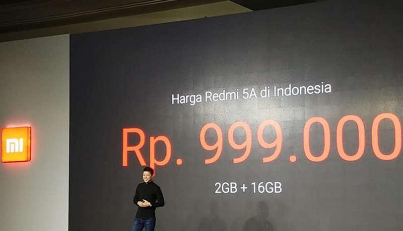 Harga Xiaomi Redmi 5A