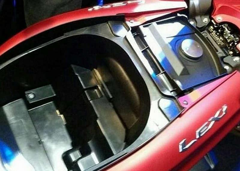 Bagasi Yamaha Lexi 125