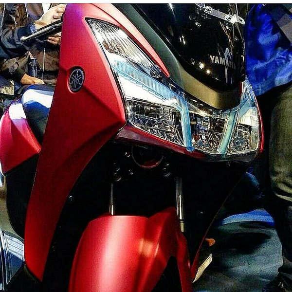 Desain Headlamp Yamaha Lexi 125