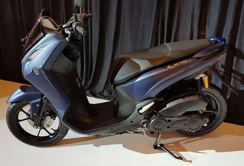 Yamaha Lexi 125 Warna Abu-Abu