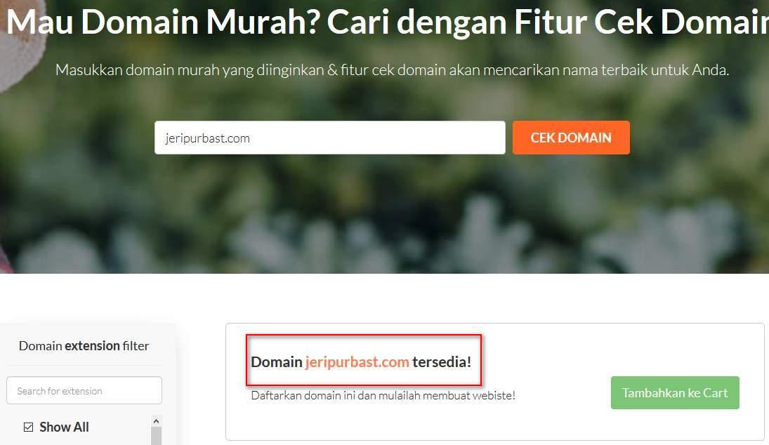 Cari Nama Domain