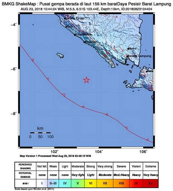 BMKG Rilis Update Gempa Hari Ini Bali, Lampung, Tasikmalaya