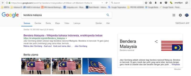 Insiden Bendera Malaysia Terbalik Bendera Malaysia