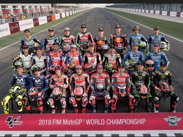 Susunan Pebalap MotoGP 2018