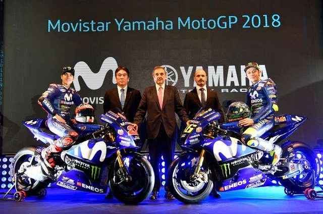 Rossi dan Vinales Movistar Yamaha 2018