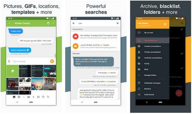 Aplikasi SMS Terbaik Android