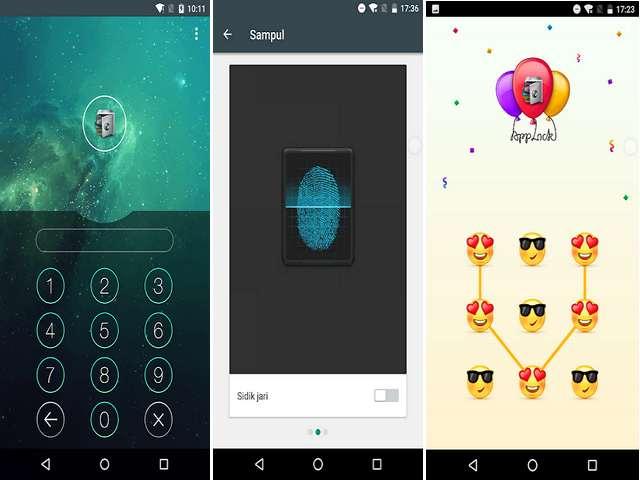 Cara Mengunci Aplikasi Android Dengan Sidik Jari, Pola dan Pin