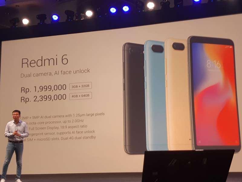 Harga Xiaomi Redmi 6