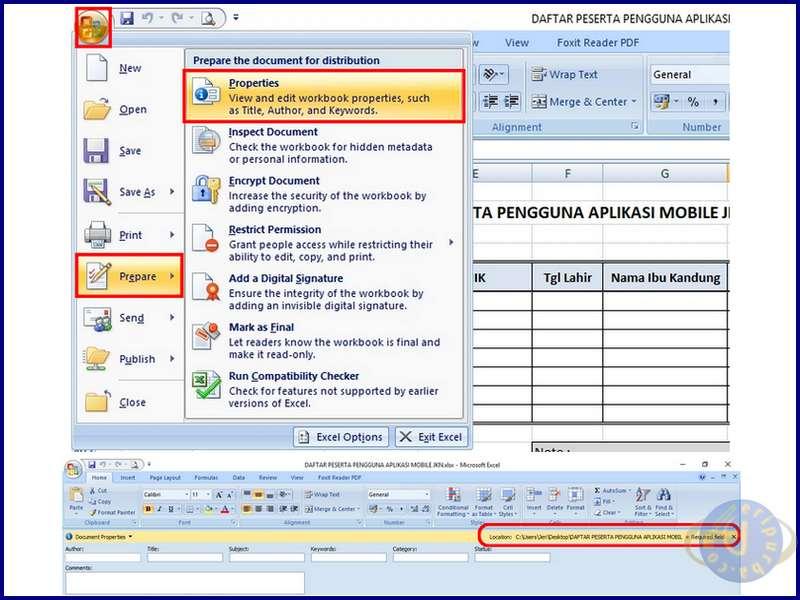 Cara Mencari Lokasi File Dokumen di Laptop