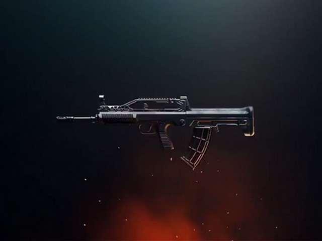 Senjata eksklusif Sanhok baru QBZ PUBG Mobile