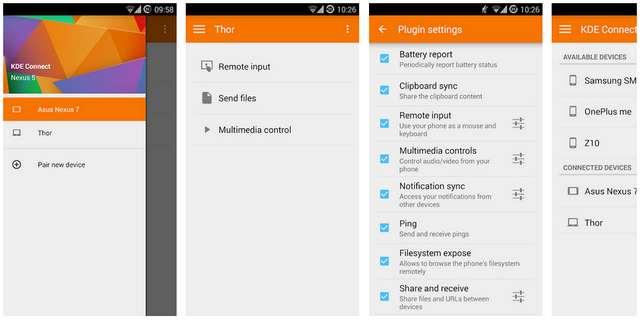 Cara Transfer File dari Android ke Linux dengan Aplikasi KDE Connect