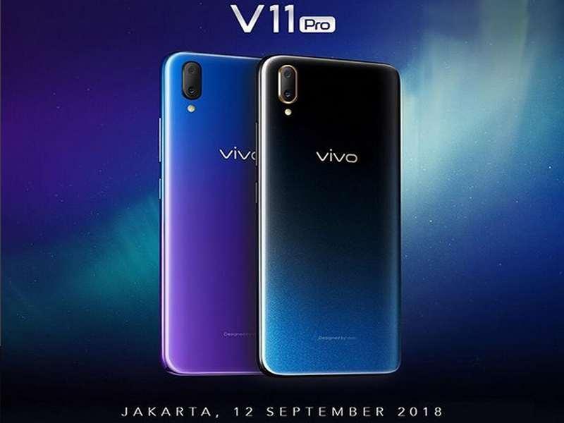 Vivo V11 Pro Diluncurkan Di Jakarta.