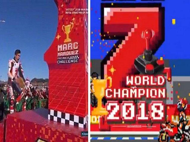 Game Mac Marquez Juara Dunia MotoGP 2018