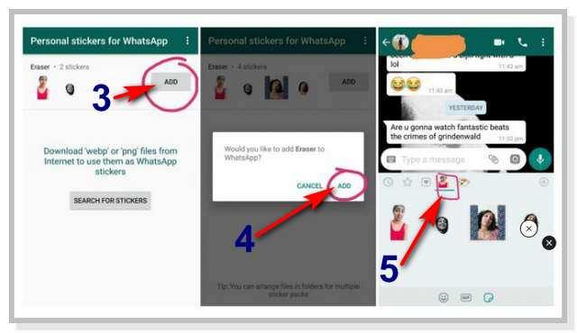 Cara Bikin Stiker WhatsApp Pake Foto Kamu Sendiri
