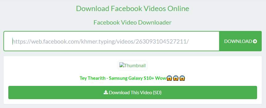 Cara Download Video Facebook Tanpa Aplikasi