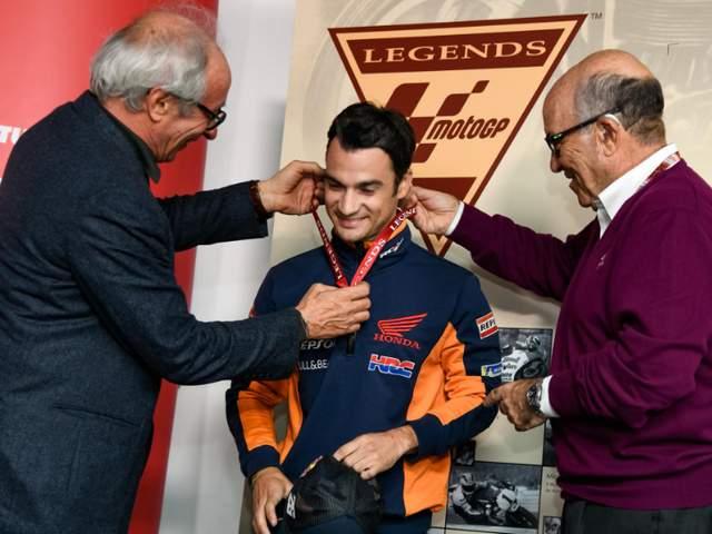 Dani Pedrosa Mendapat Gelar MotoGP Legend